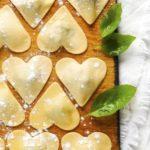 Cuori di pasta fresca ripieni